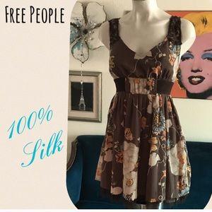 Free People Silk Dress